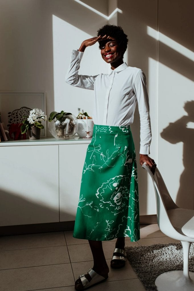 British and London made-to-order slow fashion brands leading the sustainable way birdsong ss20 rachel manns