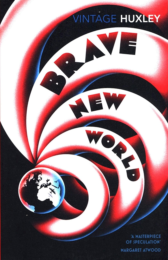 Future Fiction: The 12 dystopian books everyone should read Brave New World by Aldous