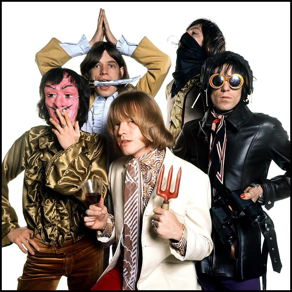 The Rolling Stones 1968 © David Bailey