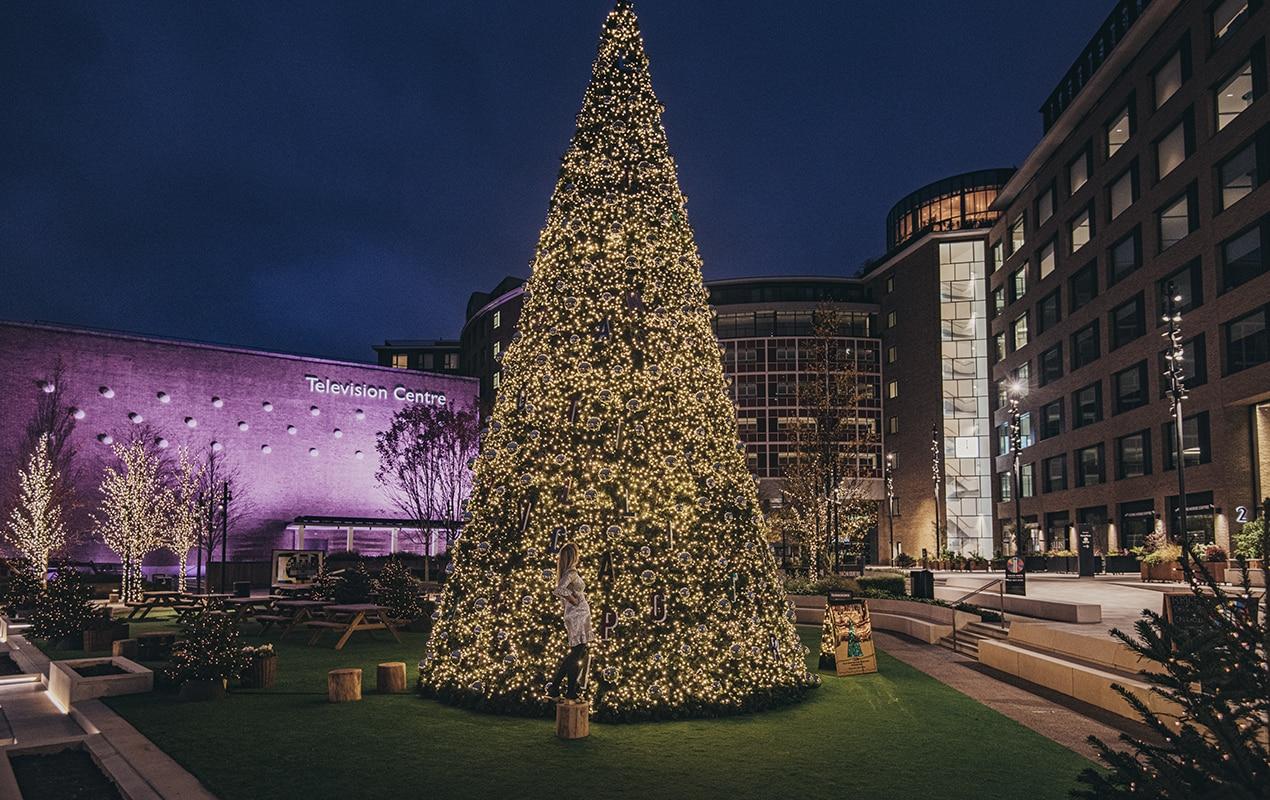 Matilda Goad x Christmas Tree TVC  ©Charles Emerson 7