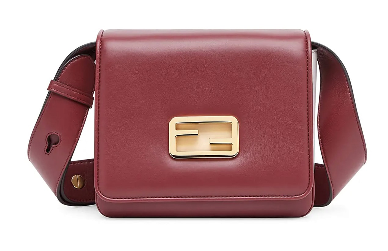 fendi initialled bag front