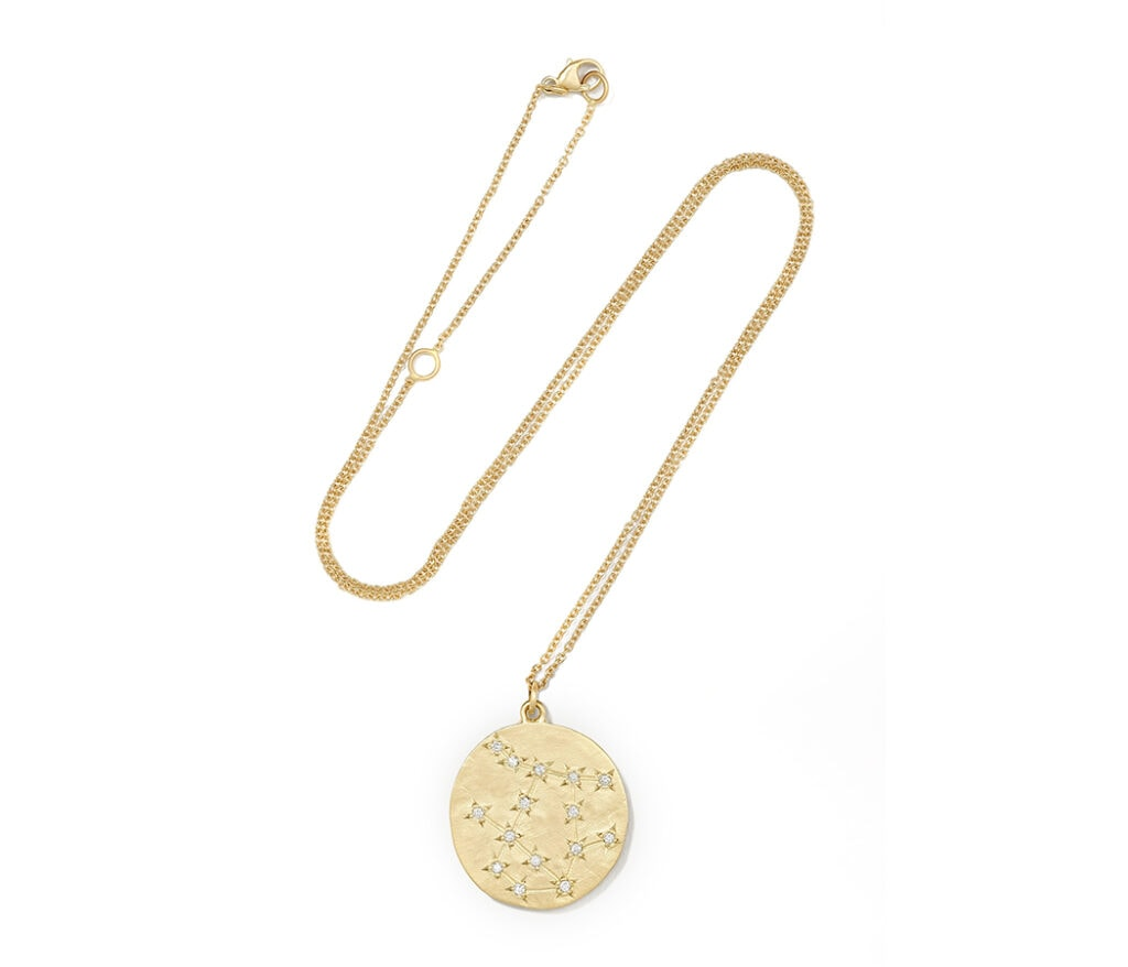 The chicest astrology gifts to buy for zodiac fans this Christmas Brooke Gregson Zodiac diamond necklace