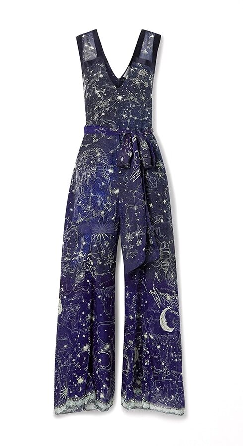 The chicest astrology gifts to buy for zodiac fans this Christmas Camilla Belted Satin Jumpsuit e1607262322110
