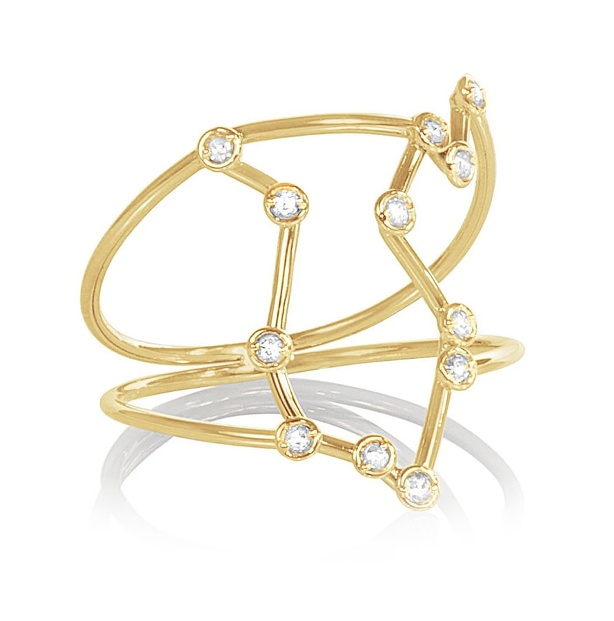 The chicest astrology gifts to buy for zodiac fans this Christmas Constellation Ring Jessie V E