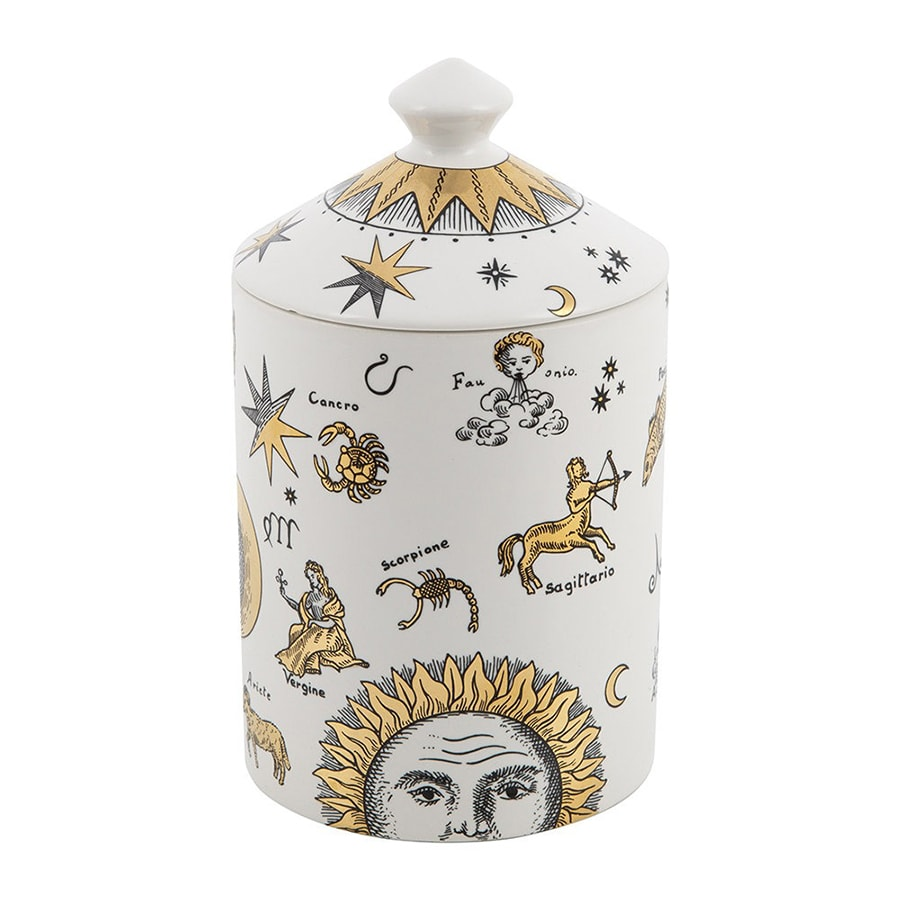 The chicest astrology gifts to buy for zodiac fans this Christmas Fornasetti Astronomici Bianco candle