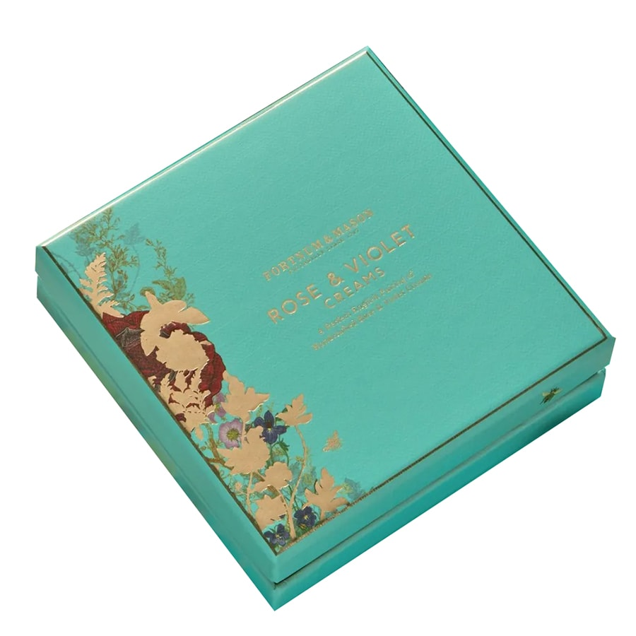 Fortnum and Masons Rose and Violet Creams