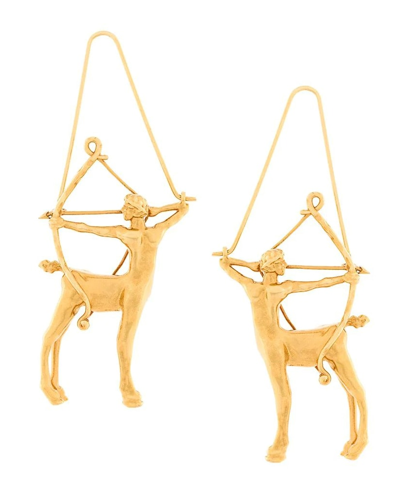 The chicest astrology gifts to buy for zodiac fans this Christmas Givenchy Metallic Zodiac Earrings