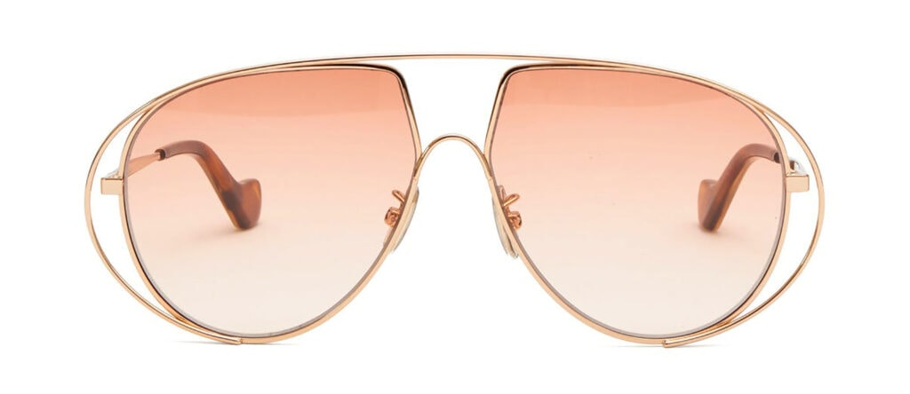 LOEWE Aviator metal sunglasses 280 MATCHES