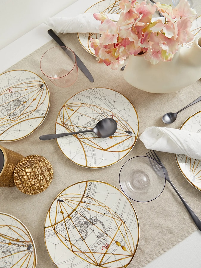 The chicest astrology gifts to buy for zodiac fans this Christmas Laboratoria Paravinci Zodiac ceramic dessert plates