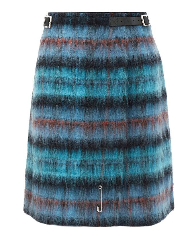 Le Kilt Dino 25 tartan brushed wool kilt e1608054024861