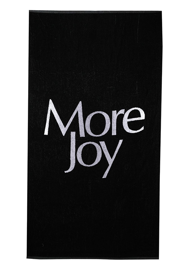 More Joy More Joy print towel 128 FAR