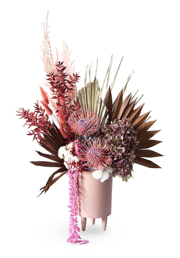 Interior designer Sophie Conran's top tips on how to style your home for winter Your London Florist Tanzania Christmas dried flowers