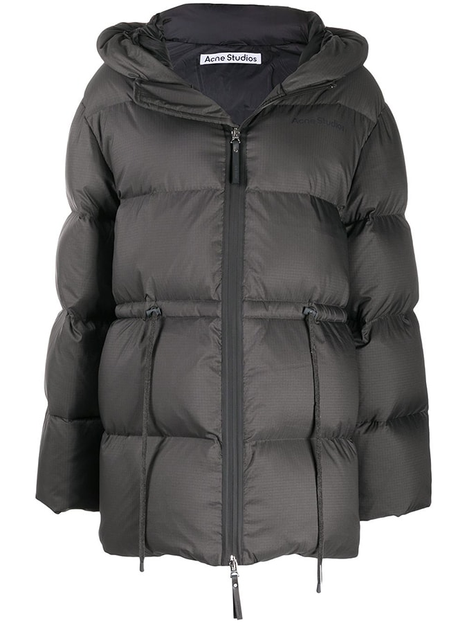 Puffer coats: The covetable and cosy duvet coats to invest in this winter Acne Studios hooded puffer coat 900 FAR