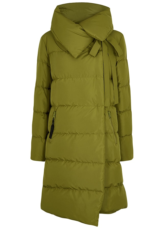 Puffer coats: The covetable and cosy duvet coats to invest in this winter BACON Big Puffa olive quilted shell coat 560 HN