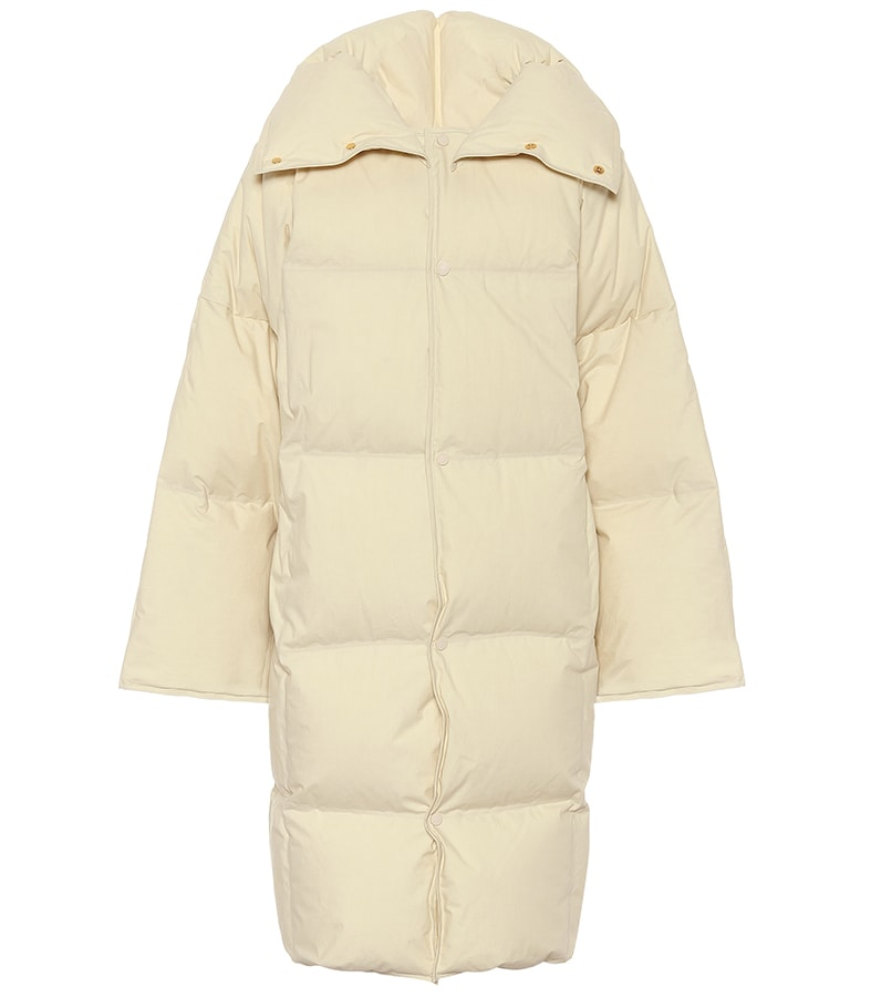 Puffer coats: The covetable and cosy duvet coats to invest in this winter BOTTEGA VENETA Quilted cotton down puffer coat 2175 MT