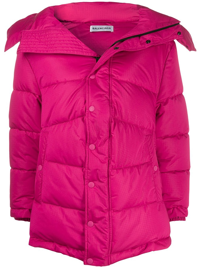 Puffer coats: The covetable and cosy duvet coats to invest in this winter Balenciaga New swing puffer coat 1950 FAR