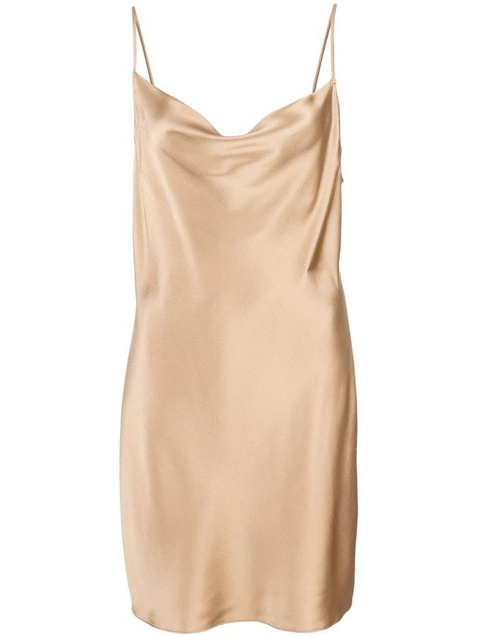 Fleur Du Mal short slip dress 611 FAR
