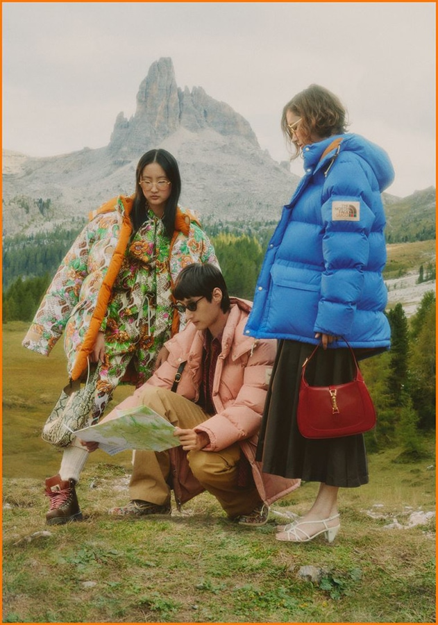 The new fashion launches and limited-edition collaborations you need to know GUCCI x NORTH FACE