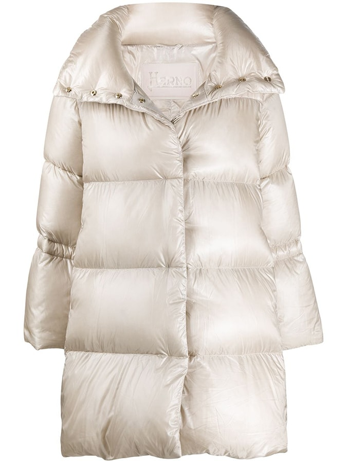 Puffer coats: The covetable and cosy duvet coats to invest in this winter Herno drawstring detail padded coat 590 FAR