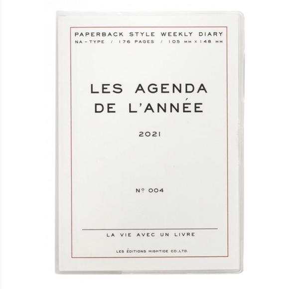 Hightide 2021 Diary Les Agenda De Lannee White