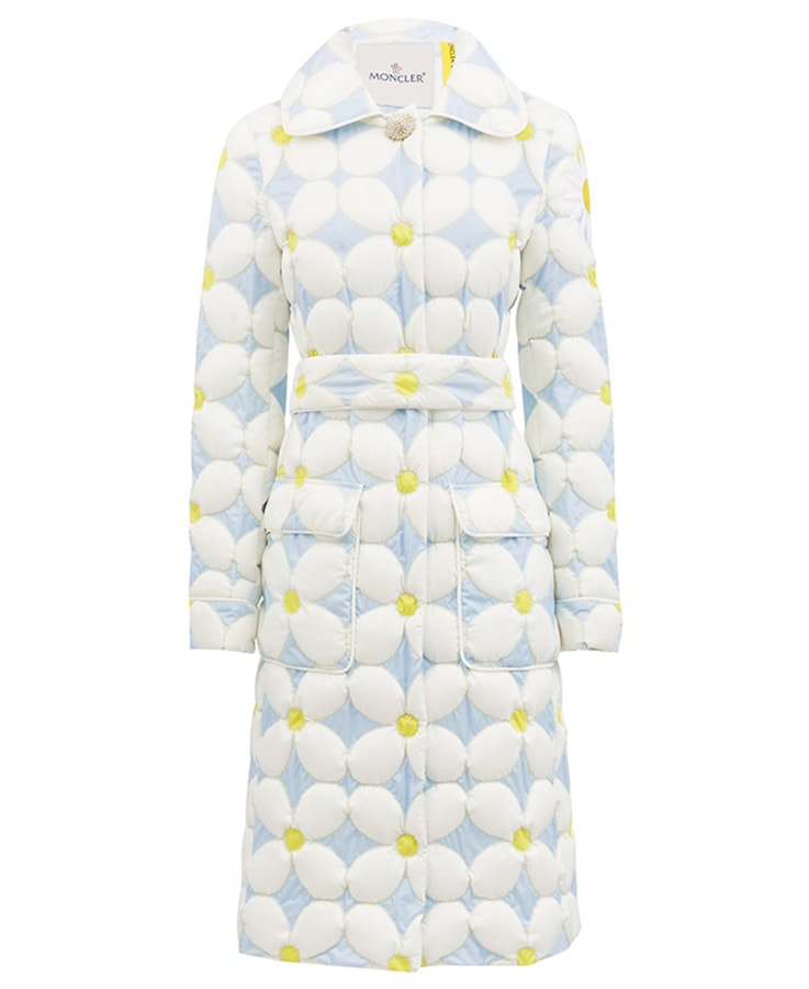 Puffer coats: The covetable and cosy duvet coats to invest in this winter MONCLER X RICHARD QUINN Candice daisy down quilted shell coat 2580 MATCHES