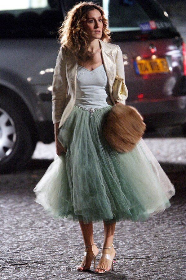 <em>Sex And The City</em> returns: We chart Carrie Bradshaw's most iconic fashion looks to buy now SATC TUTU TOO