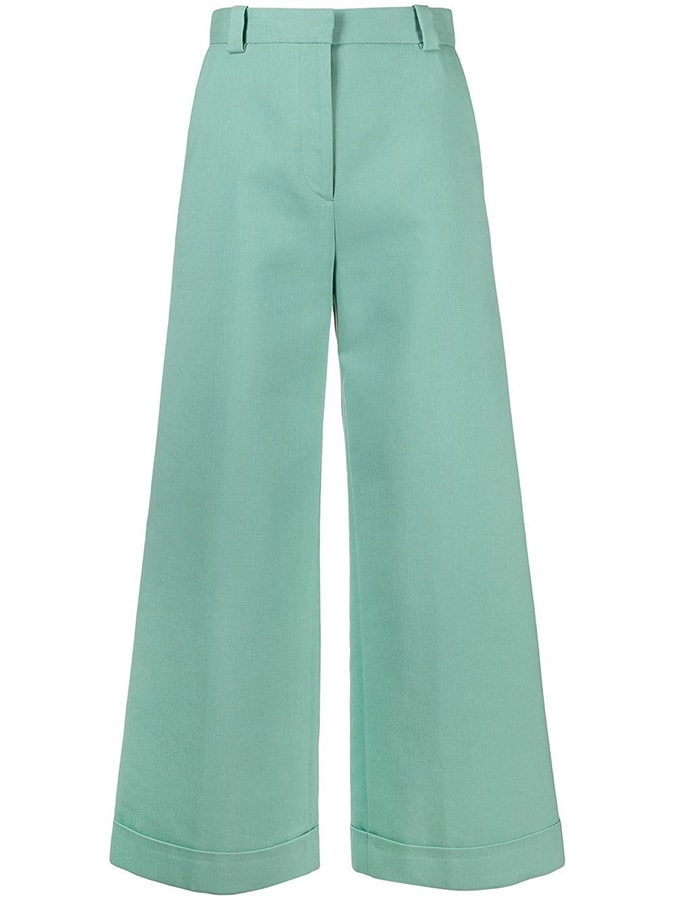 See by Chloé cropped wide leg jeans 284 FAR