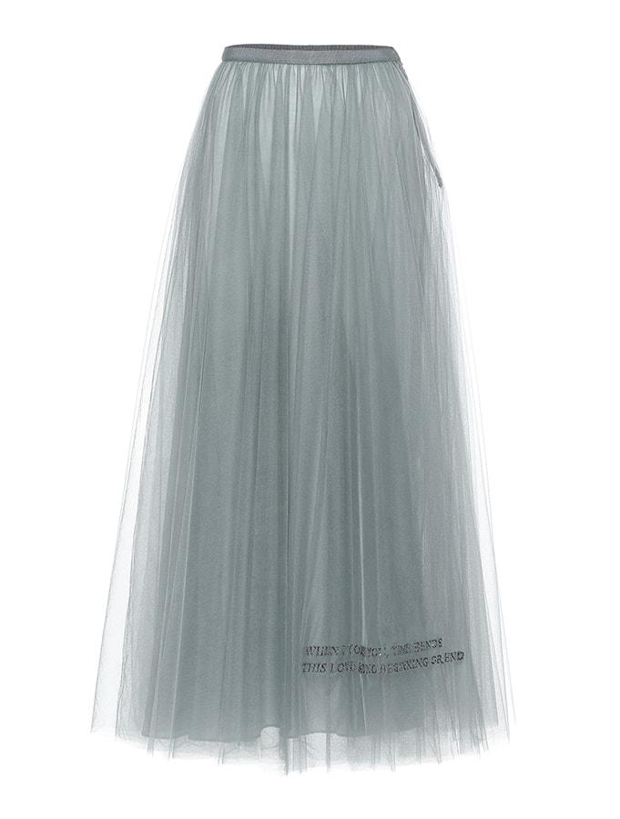 VALENTINO Exclusive to Mytheresa – Valentino tulle midi skirt 2798 1678 MY THERES