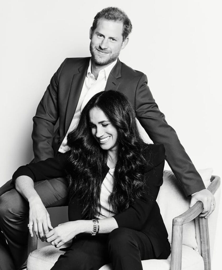 meghan and Harry Archewell