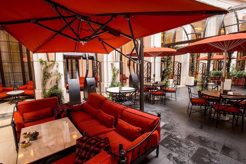 London's 26 best outdoor restaurants and terraces to book now Corinthia Garden Lounge