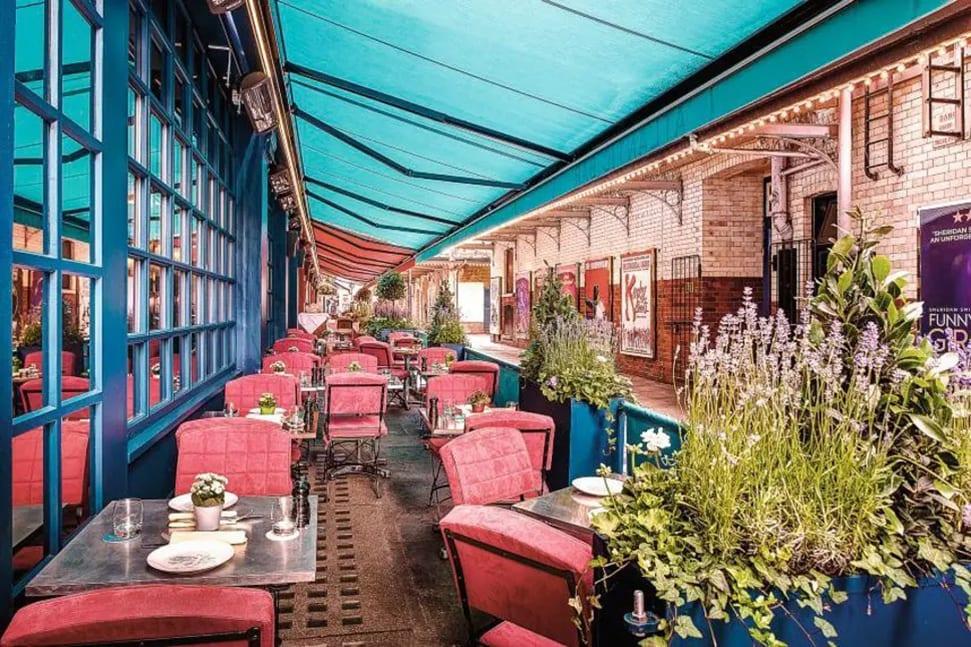 London's 26 best outdoor restaurants and terraces to book now J Sheekey outdoor terrace