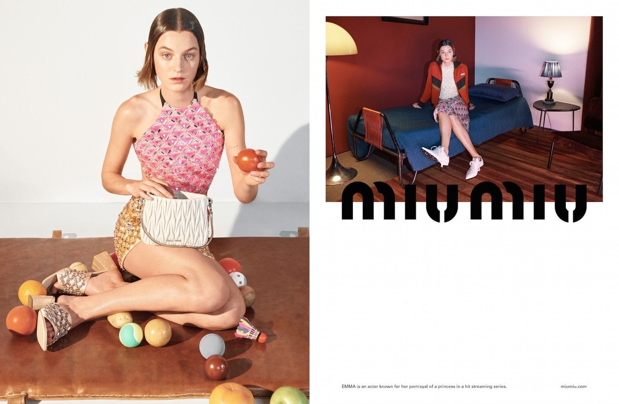 The best fashion campaigns for Spring/Summer 2021 Miu Miu SS21 Adv Campaign 01 1