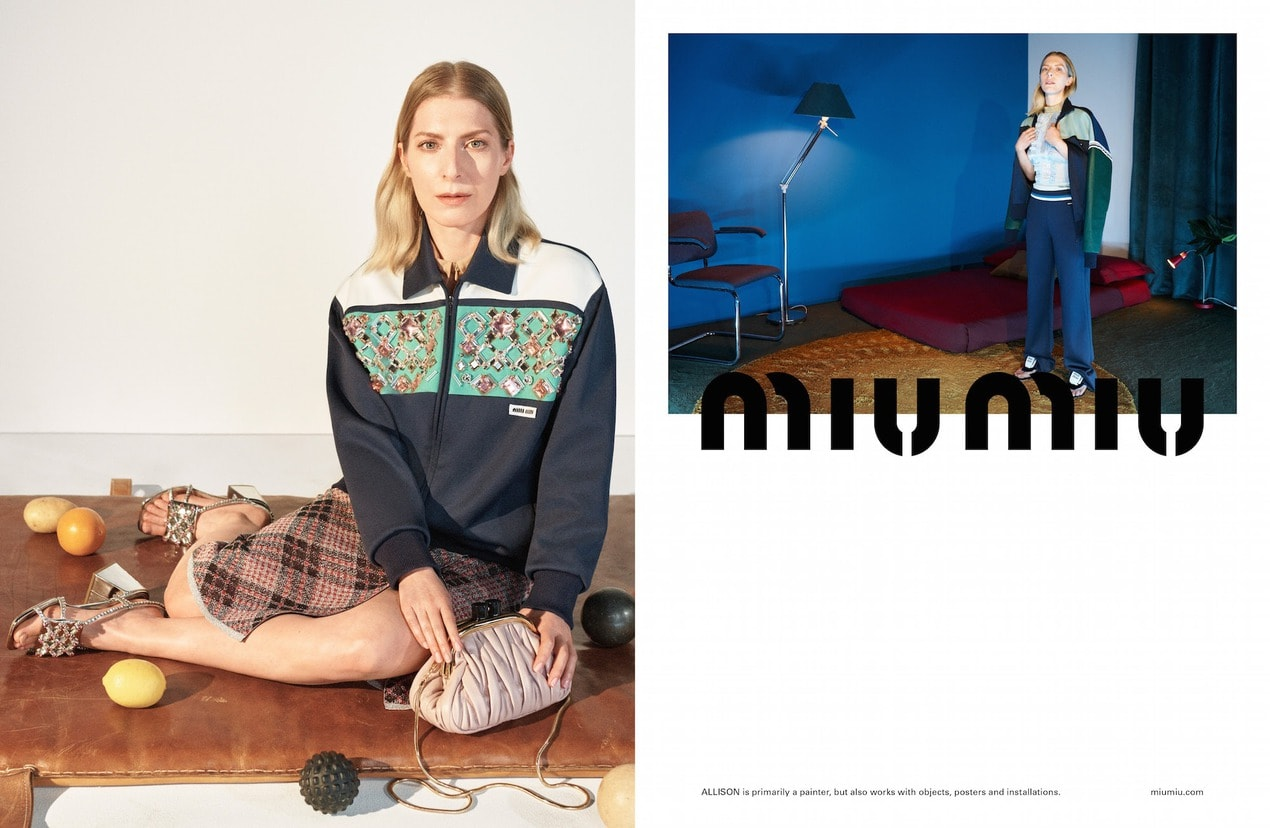 The best fashion campaigns for Spring/Summer 2021 Miu Miu SS21 Adv Campaign 02