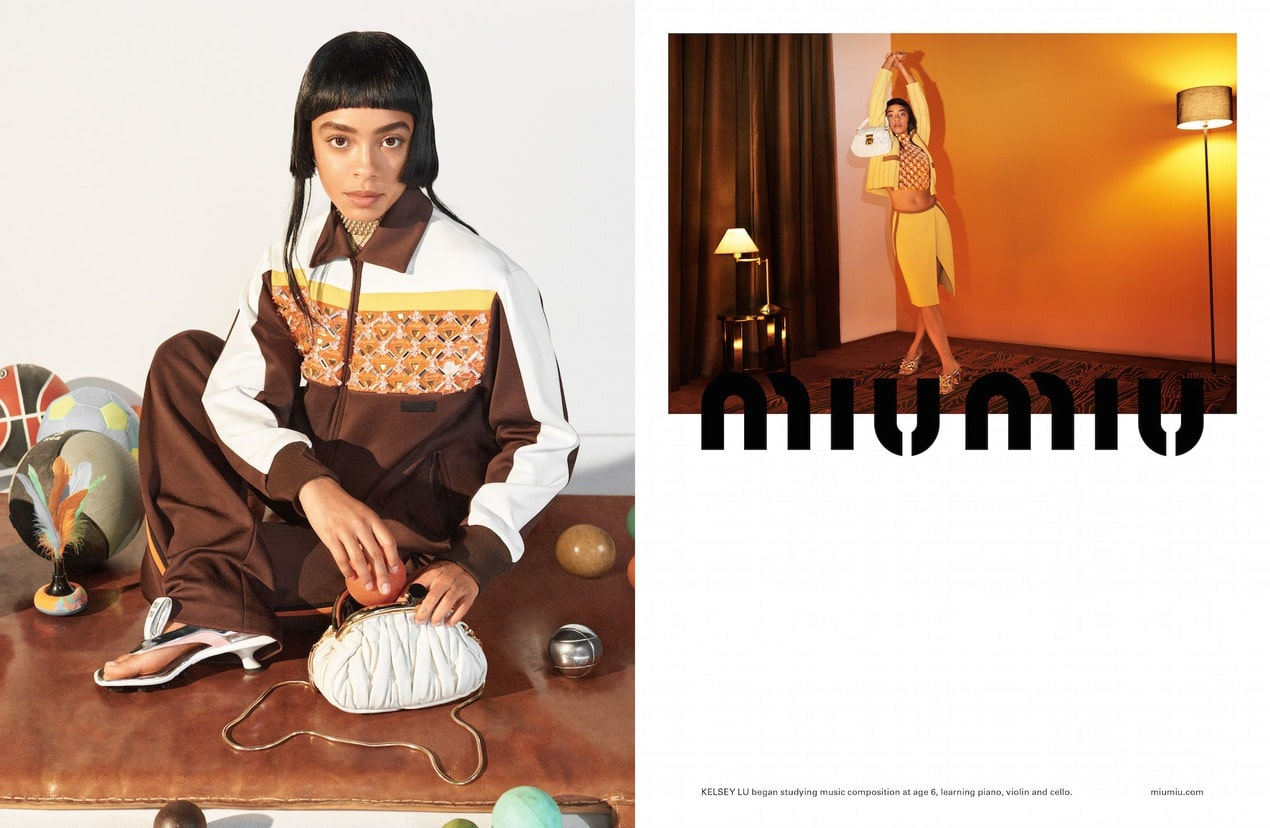 The best fashion campaigns for Spring/Summer 2021 Miu Miu SS21 Adv Campaign 03