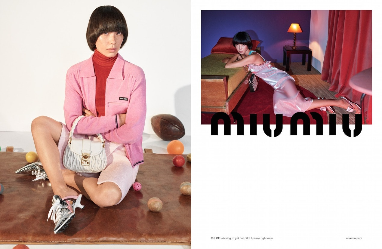 The best fashion campaigns for Spring/Summer 2021 Miu Miu SS21 Adv Campaign 04