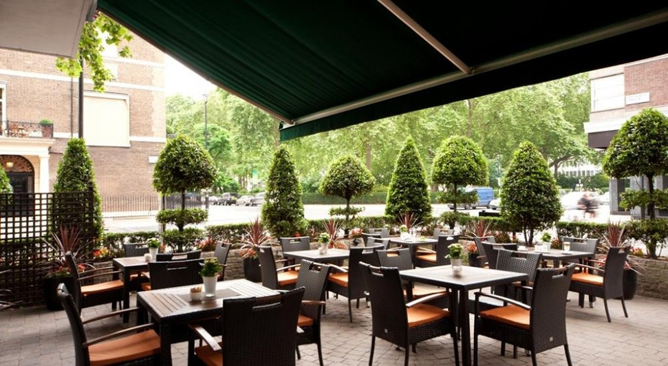 London's 26 best outdoor restaurants and terraces to book now Nobu Hotel London Portman Square