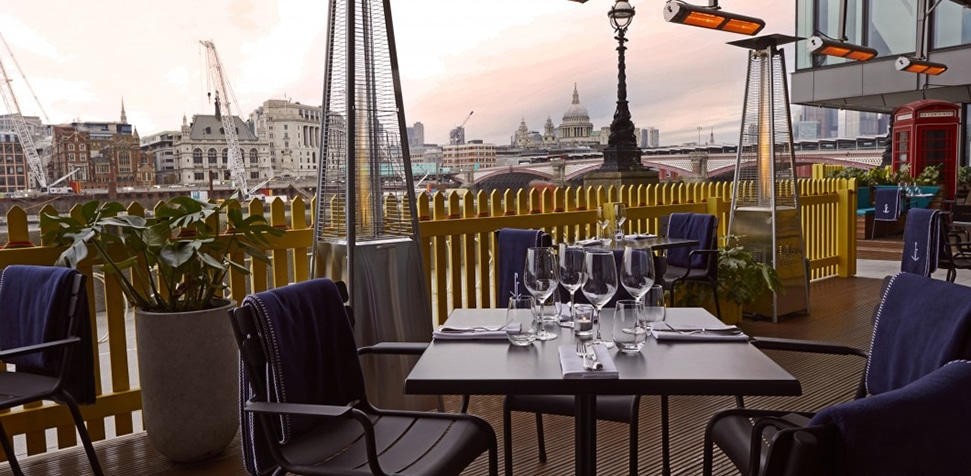 London's 26 best outdoor restaurants and terraces to book now Sea Containers London