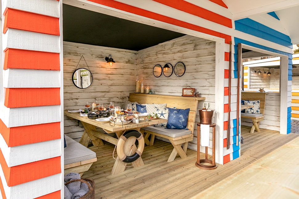 London's 26 best outdoor restaurants and terraces to book now The Berkeley Beach Huts 1