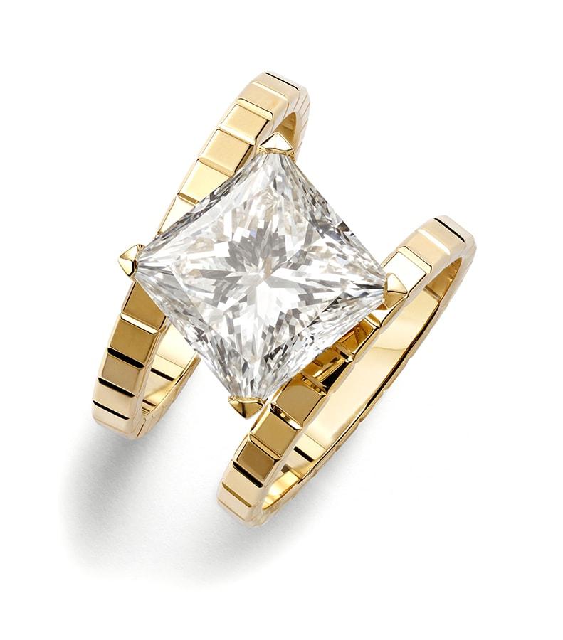 820163 0001 Ice Cube High Jewellery ring