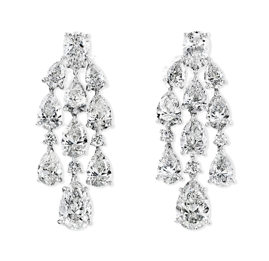 Golden Globes 2021: The stand-out jewellery on the virtual red carpet Chandelier Diamond Earrings