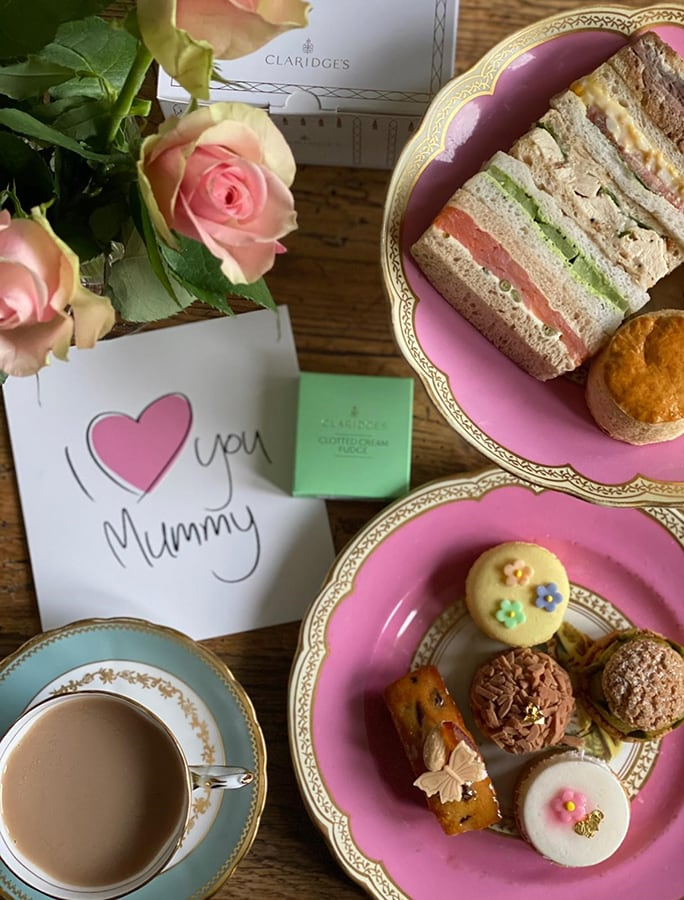 The most indulgent Mother's Day restaurant food kits to show you care this Sunday Claridges Mothers Day ii
