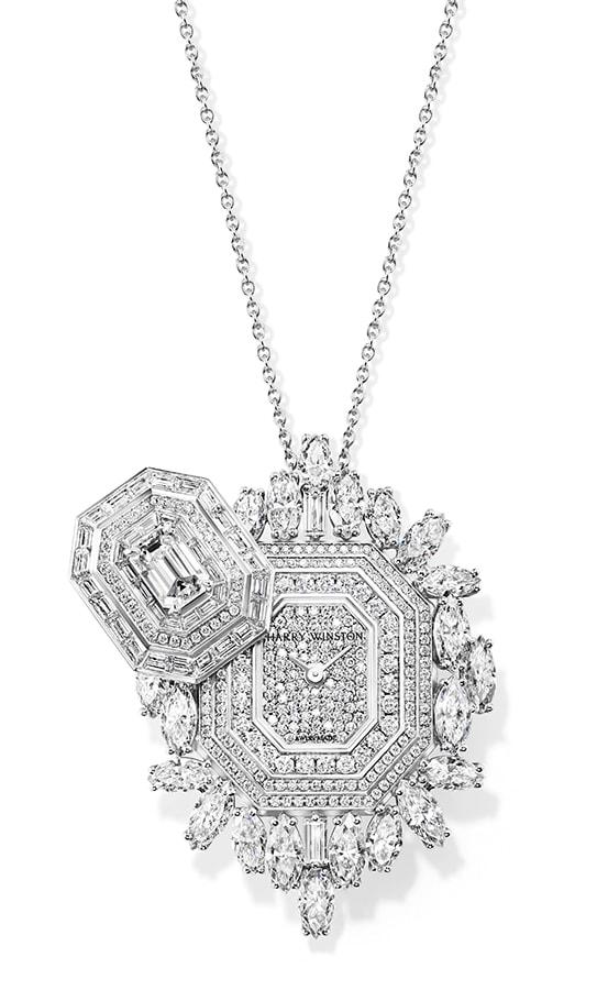 Harry Winston Ultimate Emerald Signature High Jewellery Timepiece
