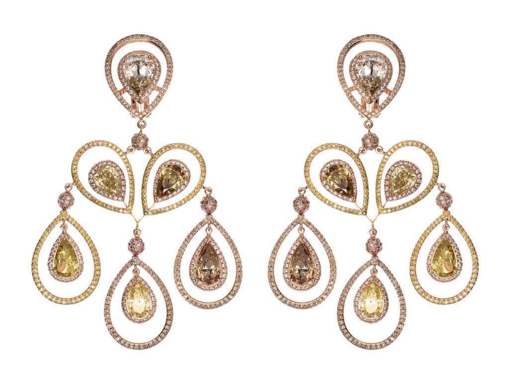 Golden Globes 2021: The stand-out jewellery on the virtual red carpet Haute Joaillerie Earrings 847257 5003