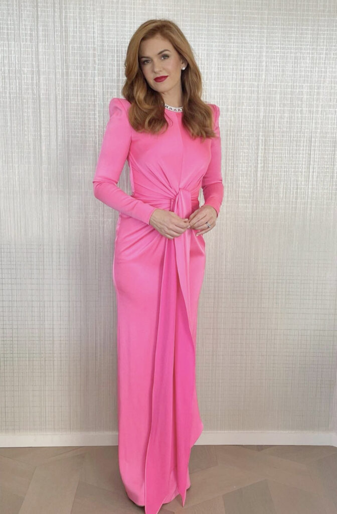 Golden Globes 2021: The stand-out jewellery on the virtual red carpet Isla Fisher Golden Globes 2021