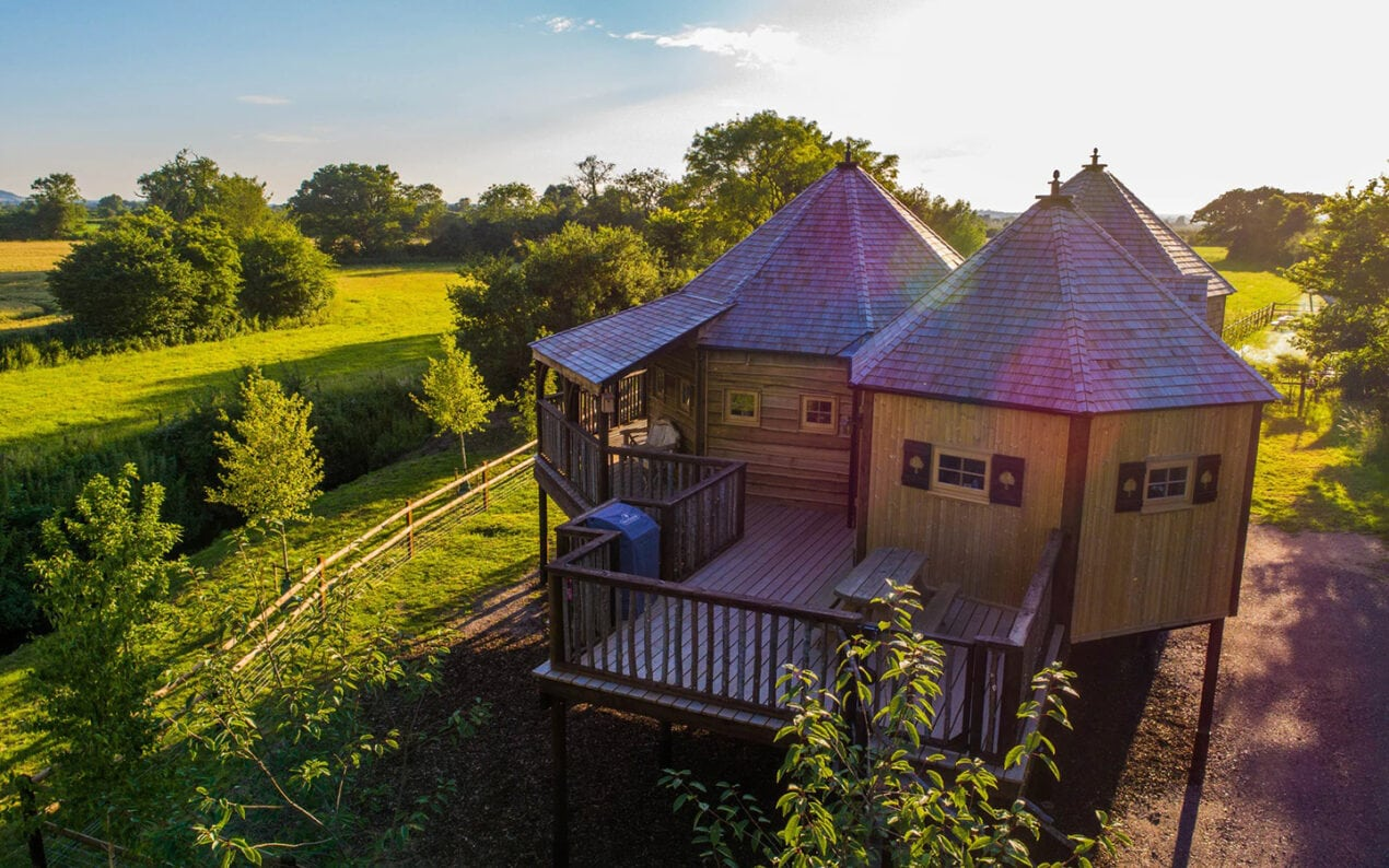 8 spectacular luxury treehouses across the UK to escape to King Arthurs Willow Tree House