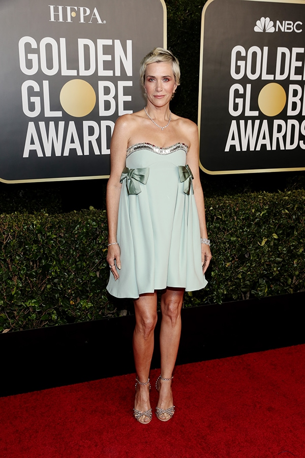 Golden Globes 2021: The stand-out jewellery on the virtual red carpet Kristen Wiig GettyImages 1304624513 Original 43776