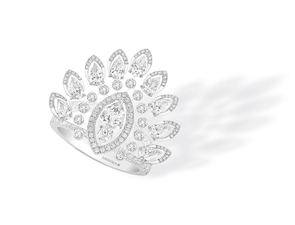 Golden Globes 2021: The stand-out jewellery on the virtual red carpet Messika Paris Bague Desert Bloom Marquise 07487