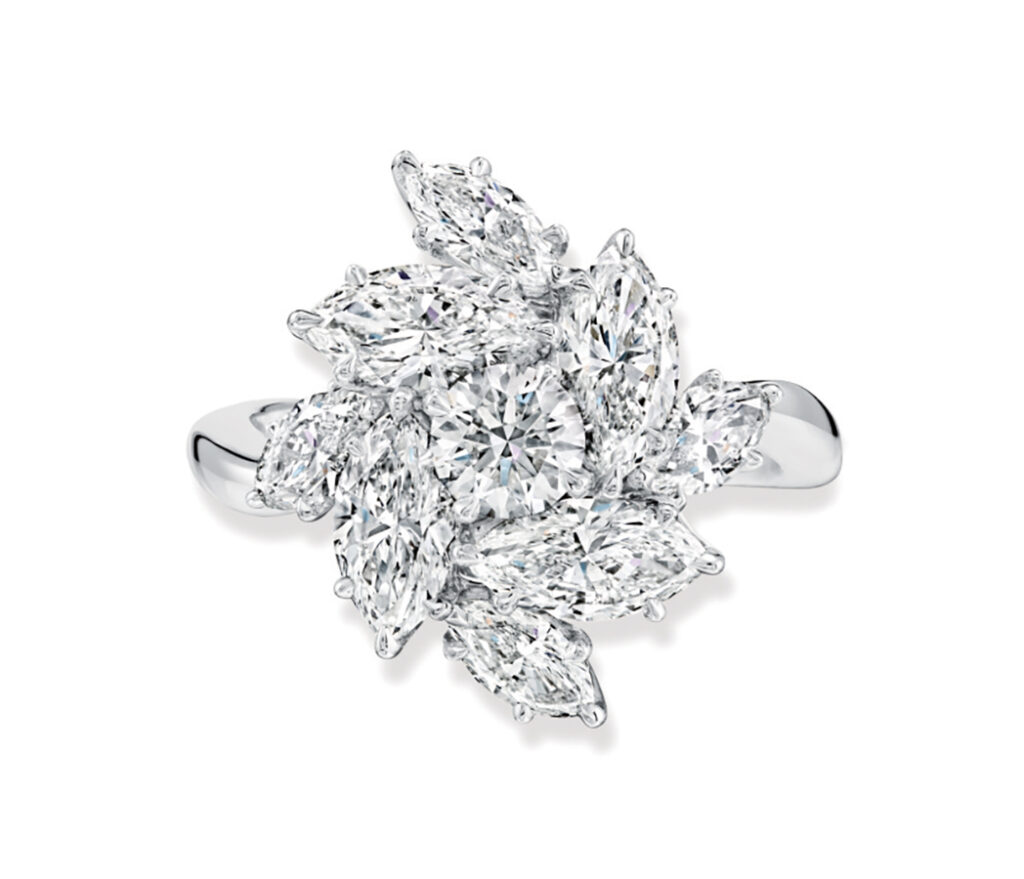 Pirouette by Harry Winston Ring