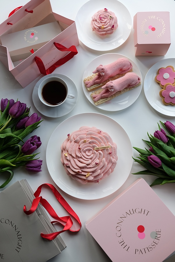 The most indulgent Mother's Day restaurant food kits to show you care this Sunday The Connaught Patisserie Mothers Day i