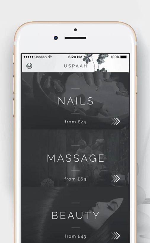 London's finest mobile beauty services for at-home treatments post-lockdown Uspaah app